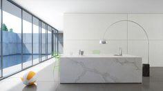 Calacata Nuvo Caesarstone Quartz For Floor Tiles & Kitchen Worktops