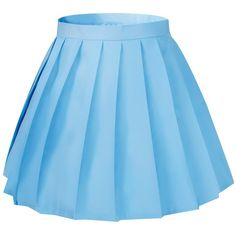 da28455e9b Amazon.com  Women s School High Waist Slim Mini Short Flat Pleated.