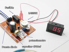 FUENTE DE VOLTAJE SIMPLE REGULADOR TO-3 La construcción de la fuente que se presenta a continuación es capaz de suministrar un voltaje desde 1,25 VDC hasta los 32 VDC, de forma variable, es decir, con un potenciómetro puede ir variando la tensión dentro de ese margen y seleccionar el deseado. Además, la fuente también puede suministrar hasta 5 amperios de corriente.