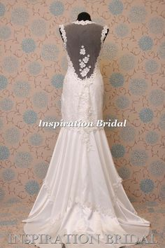 GBP230 1559a 1920s 1930s Vintage Inspired Wedding Dress Dresses 20s 30s