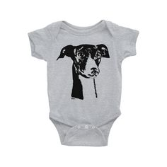 Greyhound Baby One Piece, Greyhound Gifts, Gender Neutral Baby Shower Gift, Personalised Baby Onepiece, Customised Toddler Girl Clothes American Apparel Shorts, Personalised Baby, Gender Neutral Baby, Toddler Girl Outfits, Baby Wearing, Black Print, Baby Bodysuit, Baby Shower Gifts, One Piece
