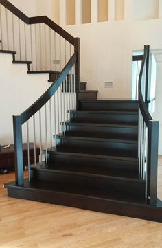 Modern railing can increase the visual appeal of your stairs and potentially the value of your home. Learn about our modern railing design process.
