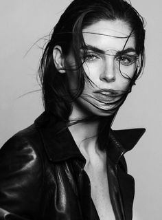 Hilary Rhoda for Models.com   Photographers: Santiago Mauricio   Stylist: Elizabeth Sulcer   Makeup Artist: Serge Hodonou // #editorials