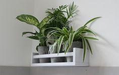 Etagére Ikea, pots botanic : Relooking salle de bain