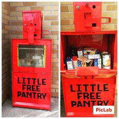 12 clever Little Free Pantries Little Free Pantry, Pantries, Sunday School, Mother Nature, Clever, Instagram Posts, Pie Safe, Nature, Mother Earth