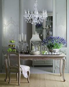 Beautiful Dining Room. [ Wainscotingamerica.com ] #dining #wainscoting #design