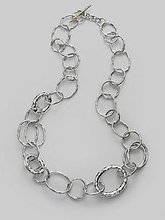 IPPOLITA Sterling Silver Open Link Necklace
