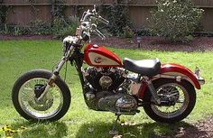 Photo of 1959 Harley Davidson 77ci Ironhead XLCH Sportster motorcycle by Don.