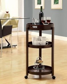 Cappuccino Bar Cart with a Serving Tray On Castors comes with some really cool features for you. Choose from our bestselling appliances, Cappuccino Bar Cart with a Serving Tray On Castors items.   Add an unparalleled appeal to you bar area with this modern styled bar cart today.  Buy Now