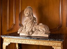 19th c French sphinx