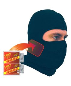 Loving this Black Warmer Balaclava Set - Unisex on #zulily! #zulilyfinds