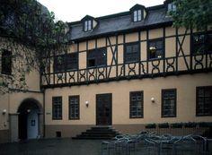 Backview of the 'Händelhaus' birthplace of the composer Georg Friedrich Händel (1685-1759) in Halle (Saale)