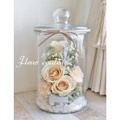 Boho Flowers, Flowers In Jars, Dried Flowers, Paper Flowers, Glass Domes, Glass Vase, Gift Bouquet, How To Preserve Flowers, Floral Arrangements