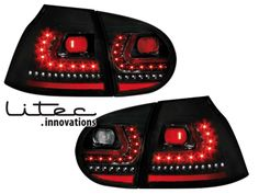 Volkswagen GTI MkVI rear lights custom built for MkV.
