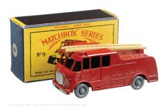 The South West Matchbox Collection | Regular Wheels | Vectis Toy Auctions Matchbox Regular Wheels No.9C Merryweather Marquis Fire Engine