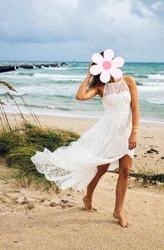 Ivory Boho svatební šaty od Body Frock - 38 , 38