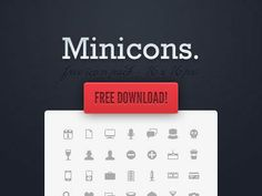 20  Free PSD Mini Icon Sets