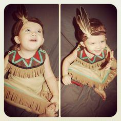 Stevie Randallyn: Toddler Indian Costume