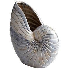 $187.50 Rippled Shell Vase