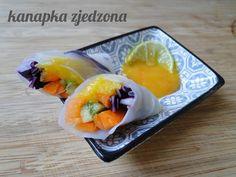 kanapka zjedzona: Spring rolls z mango
