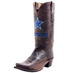 Find great Dallas Cowboy boots that you can enjoy wearing. You can also find Dallas Cowboys slippers featuring designs inspired by the famous football team. Choose from a wide range of designs of Dallas Cowboys boots that any fan of the team will enjoy wearing and owning.