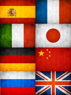 A good website to learn Spanish, French, Italian, Japanese, German, Chinese, Russian, and English!