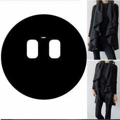 Circle cardigan