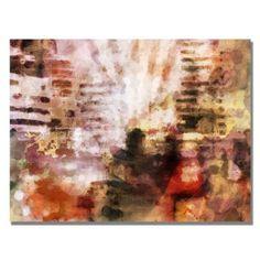Amazon.com: Trademark Fine Art City Impression by Adam Kadmos Canvas Wall Art, 24x32-Inch: Home & Kitchen