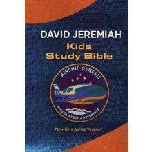 NKJV Airship Genesis Kids Study Bible - Blue LeatherSoft