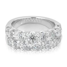 Diamond Bands, Gold Bands, Anniversary Bands, Round Diamonds, The Row, Sapphire, White Gold, Gems, Engagement Rings