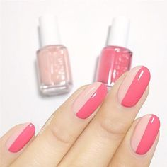 Bright & Pale Pink Stripes