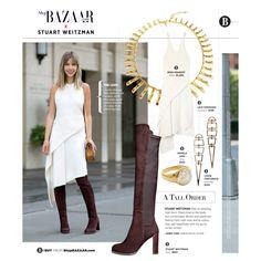 Reed Krakoff Cross-Back Dress - Draped Dress - ShopBAZAAR