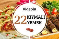 Birbirinden Lezzetli Videolu Denenmiş Kıymalı Yemek Tarifleri - Nefis Yemek Tarifleri Iftar, Beef, Cheese, Cooking, Meatball, Food, Kitchens, Recipies, Meat