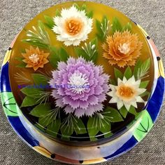 Now YOU can make Gelatin Art cake like these right in your own home. These high quality Gelatin Art Tools give you all the professional advantages.