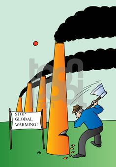 Cartoon: Ecology (large) by Alexei Talimonov tagged ecology,global,warming,climate,change