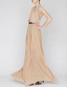 Pleated Profile Gown | Barbara Casasola | Avenue32