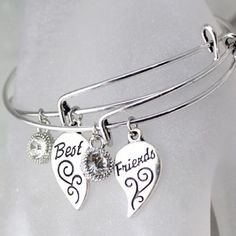 9 Best Friend Charm Bracelets Images