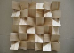 China Fireproof Wood Wall Panels Acoustic Diffuser Panel With BT New Pattern supplier