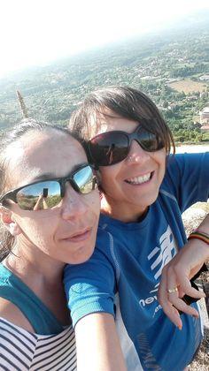 io e la mia sorellina durante una mattinata di  trekking