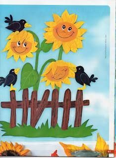 "Képtalálat a következőre: ""herbst paper craft"" Homemade Crafts, Diy And Crafts, Crafts For Kids, Arts And Crafts, Paper Crafts, School Decorations, Paper Decorations, Autumn Illustration, Autumn Crafts"