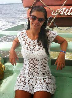 Nana crochê: Saída de praia