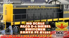HO Scale Bachmann 63401 Santa Fe Alco Switcher DCC/Sound Value. features: Bit polyphonic Sound with horn, bell, and prime mover sounds -die-. Ho Scale, Model Trains, Diecast, Layout, Page Layout