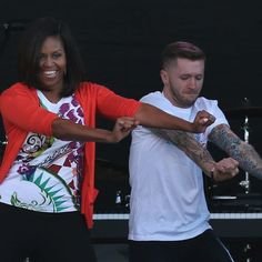 """Pin for Later: Michelle Obama Brings """"Uptown Funk"""" to the White House"""