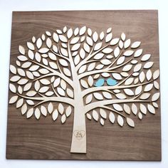 Tree of Life~A Wedding Guestbook Alternative~136 leaves