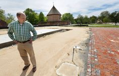 Pictures: Recreating a lost Colonial Williamsburg landmark with the reconstruction of the Market House: http://bit.ly/1JFDqoE -- Mark St. John Erickson