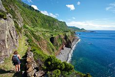 Hiking trails in the Azores