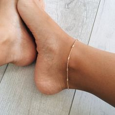 Simplicity Anklet More WOMEN'S JEWELRY http://amzn.to/2ljp5IH
