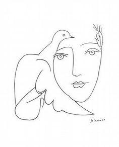 Picasso - I colori, come i lineamenti, seguono i cambiamenti delle emozioni. -- Pablo Picasso