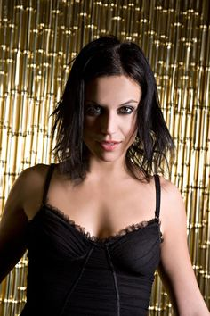 born 6 June is an Italian singer, best known as one of the two vocalists in the Italian heavy metal band Lacuna Coil. Ladies Of Metal, Metal Girl, Lacuna, Cristina Scabbia, Heavy Metal Fashion, Goth Women, Sexy Women, Women Of Rock, Woman Movie