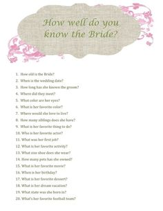 The Sparkled Life: Bridal Shower Repost